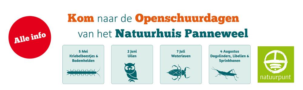 openschuurdagen Natuurhuis Panneweel